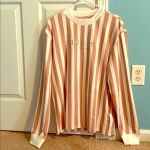 Guess Los Angeles striped long sleeve